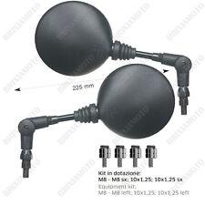 COUPLE FOLDABLE MIRRORS FAR M8 M10 LH - RH YAMAHA XT MT-07 MT-09 MT-03