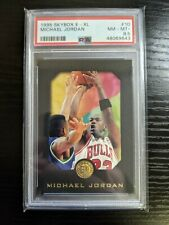 1995-96 Skybox E-XL Michael Jordan PSA 8.5 #10 Bulls Black