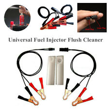 Fuel Injector Flush Cleaner Adapter Tool Universal Clean For Most Car Motorcycle
