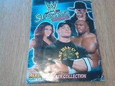 WWE Superstars Wrestling complete full sticker album 2008 Merlin Topps NO poster