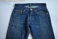 A.P.C. APC Mens NEW STANDARD Denim Crazy Fades  Selvedge Jeans 27 x 32 $195