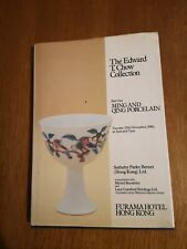 THE EDWARD T. CHOW COLLECTION: PART ONE MING AND QING PORCELAIN