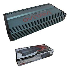 POWER ACOUSTIK OD1-7500D 7500 WATT CLASS D MONOBLOCK AMPLIFIER MONO CAR SUB AMP