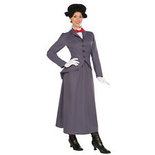Nourrice costume mary poppins victorien adulte fancy dress female