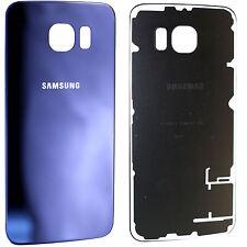 Original Samsung Galaxy S6 G920F Backcover Akkudeckel Glas Rückseite Deckel Blau