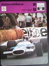 FICHE EDITIONS RENCONTRE S.A LAUSANNE AUTOMOBILISME CM 1969
