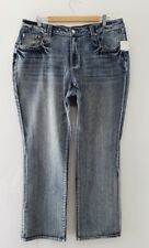 CATO womens straight leg jeans size 18W
