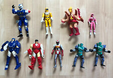 Vintage Robot Power Rangers Mixed Toy Lot Junk Drawer