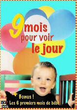 24668 // 9 MOIS POUR VOIR LE JOUR + 6 PREMIERS MOIS DE BEBE DVD NEUF