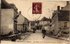 CPA Domérat-Le Pont et le bourg de Crevant (263100)