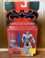 Mr. Freeze Vintage Batman & Robin Movie Action Figure New 1997 Kenner 90s DC