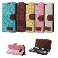 Flip Cover Schutz-Hülle zu Samsung Galaxy S7 SM-G930 Handy-Tasche/Case BOOK B97