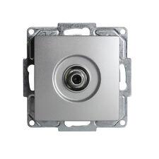Gunsan Visage Sat TV Antennendose F Stecker Silber 1281500159172