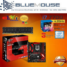 KIT SCHEDA MADRE Z270 K4 PROCESSORE INTEL QUADCORE I7 7700 RAM 8GB DDR4 LGA 1151