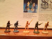 1 Of 5 Sets Axis and Allies 1942 Infantry 5 Piece UK USA USSR Japan Germany