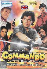 COMMANDO - MITHUN CHAKRABORTY - MANDAKINI - NEW BOLLYWOOD DVD - FREE UK POST