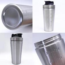 Stainless Steel Water Bottle/Protein Shaker/Blender Cup/Metal/Gym/Fitness/Drink