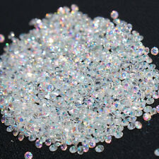 FH- 1440pcs Crystal Pixie 3D Nail art Micro Zircon 1.2mm Mini Rhinestones Solid