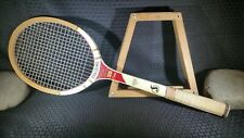 Vintage Spalding Poncho Gonzales Pro Champ wooden tennis racket