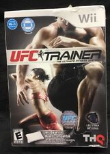 New In Box UFC Personal Trainer: The Ultimate Fitness System Nintendo Wii 2011