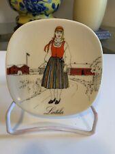 Arabia Finland China Girl Plate