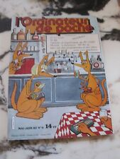 Revue L'ORDINATEUR DE POCHE n° 6 mai-juin 1982 TI 57 LCD TI 88 Tablette...