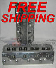 AFR 1630 LSX 230cc Mongoose CNC Ported Cylinder Heads LS1 LS2 LS6 Large Bore 72c