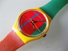 SWATCH Uhr McGregor / GJ100 aus 1985 +++mit neuer Batterie [Mc Gregor]