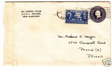 23 Letters - Dr. Carroll Chase to Meyer, 3 Cent 1851-57 Stamps, #10, 11, 25, 26