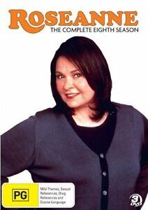 Roseanne: Season 8 (DVD, 3 Discs) Region 4 - Very Good Condition
