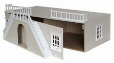 """Painted Dolls House Mayfair BASEMENT Inc steps fits up to 32"""" Dolls House DH518P"""
