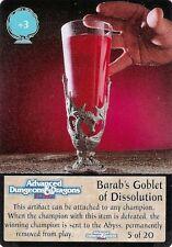 SPELLFIRE-ARTIFACT Chase #05 - arc/05 - Barab's Goblet of Dissolution-d&d
