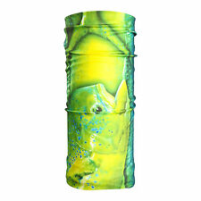UV Protection Mahi Mahi/Dorado Fishing Scarf - Neck Gaiter Face Mask