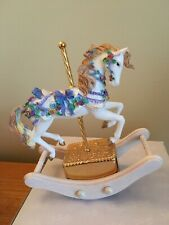 San Francisco Music Box Co Rocking Horse plays Let Me Call You Sweetheart