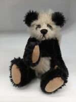 Rare 1996 Deb Canham First Mohair Collection Teddy Bear Panda