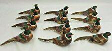 """12 Artificial Foam 3"""" Pheasants Birds Cottage Floral Craft Wreaths Decor New L6"""