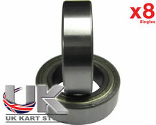 TonyKart / OTK Front Hub Bearings x 8 (6905z) 25 x 42 x 12mm Go Kart