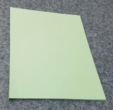 "25 Sheets of 8.5 X 11"" 110lb. Green Smooth Finish Craft or Copy Card Stock"