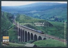 Antigua & Barbuda stamp Bridges, railways block Mnh 2004 Mi 598 Railway Ws234942