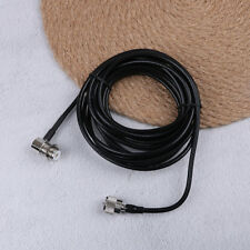 16ft RG58 PL259 uhf to so239 connectors for car radio mobile'antenna mount cable