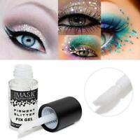 Make Up Fix Gel Glitter Lidschatten Shimmer Pigment Loose Powder Wasserdicht