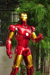 IRON MAN MARK 3 Life Size custom statue Finet SCULPTURE ARTS  fan art IRONMAN