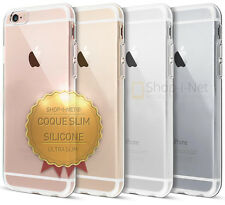 Coque Housse Silicone Slim Transparente Compatible Apple iPhone