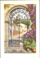 Juan Medina GATEWAY to the VILLAGE Limited Edition Art Print