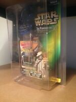 SIGNED Star Wars Ewok 2-Pack (Wicket & Logray) SIGNED by Mike Edmonds MOC