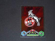 WAPPEN 1.FC KÖLN TOPPS MATCH ATTAX PANINI FOOTBALL BUNDESLIGA 2010-2011
