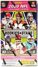 2020 Panini Rookies & Stars футбол хобби коробка 6 упаковок в коробке 10 карт в пачке