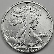 1936-s Walking Liberty Half.  A.U.  85918   (Inv.A)