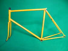 Eimei Yellow NJS Approved Keirin Frame Set Track Bike Fixed Gear 55.5cm