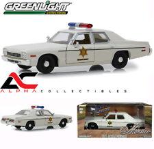 GREENLIGHT 84094  1:24 1975 DODGE MONACO CREAM HAZZARD COUNTY SHERIFF